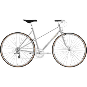 Creme Echo Uno Mixte 8-speed Dames, silver